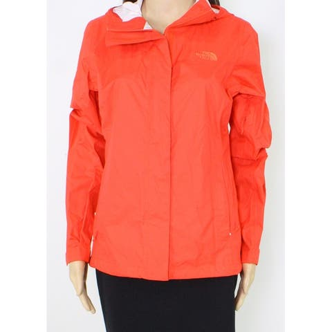 The North Face Womens Jacket Rumba Red Size Small S Zip-Front Hooded