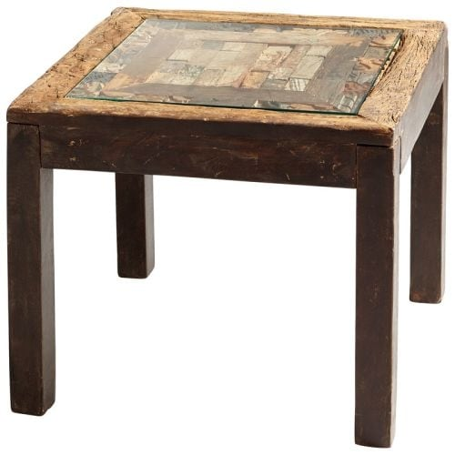 Cyan Design Collins Table 26 Inch Long Wood Side Made In India Free Shipping Today 19880665