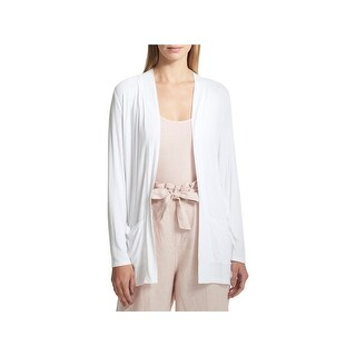 DKNY Womens Cardigan Fitness Yoga