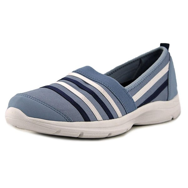 Easy Spirit e360 Quietfind Women Round Toe Canvas Sneakers