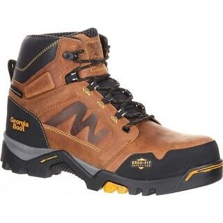Georgia Boot Men's Amplitude Waterproof Work Boot Trail Crazy Horse Leather