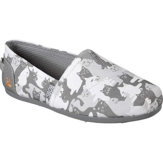 c14759a40def Shop Skechers Women s BOBS Plush Cat-Mouflage Alpargata Gray - On Sale -  Free Shipping On Orders Over  45 - Overstock - 19288082