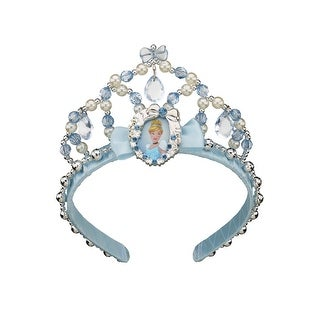 Disguise Cinderella Classic Child Tiara - Blue