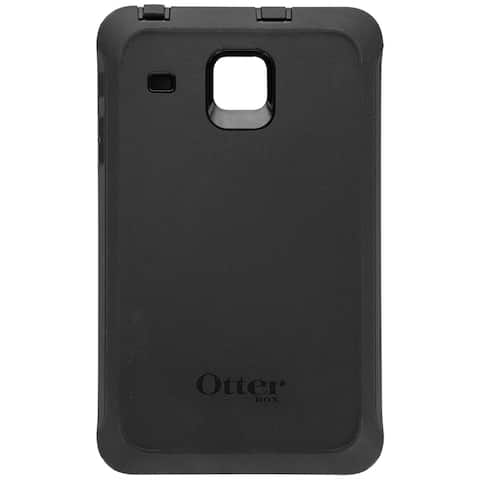 OtterBox Defender Series Protective Case for Samsung Galaxy Tab E 8.0 - Black (Refurbished)