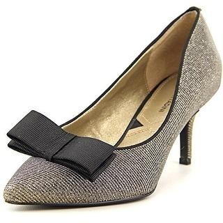 Adrienne Vittadini Footwear Women's Siv Dress Pump, Silver, Size 9.0