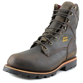 "Chippewa 8"" Waterproof Insulated 3E Round Toe Leather Work Boot"