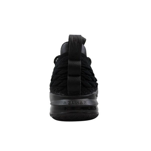 Shop Nike Men's Lebron XV 15 Low Black