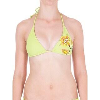 Dippers California Womens Juniors Halter String Bikini Swim Top (3 options available)