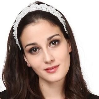 Mad Style White Belladonna Headband