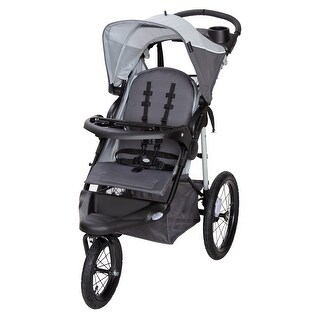 Link to Baby Trend XCEL -R8 Jogging Stroller,Mirage Grey - Single Jogger Similar Items in Strollers