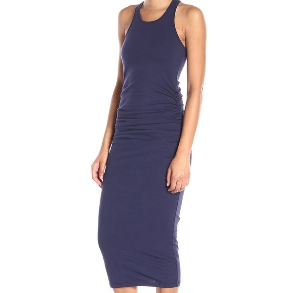 d9da581e82 Shop Michael Stars NEW Midnight Blue Womens Size XS Ruched Sheath ...