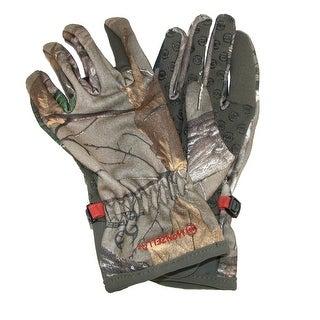 Manzella Women's Realtree Xtra Camouflage Bow Ranger Hunting Gloves - realtree xtra camo
