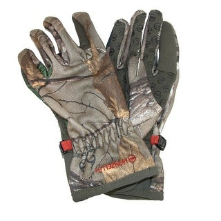 Manzella Women's Realtree Xtra Camouflage Bow Ranger Hunting Gloves
