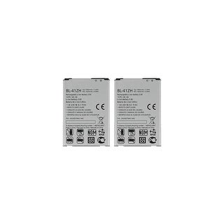 Link to Replacement For LG BL-41ZH Mobile Phone Battery (1820mAh, 3.8V, Li-Ion) - 2 Pack Similar Items in Cell Phone Accessories