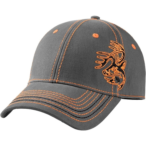 Legendary Whitetails Hidden Point Gray Stretch Fit Cap - Charcoal