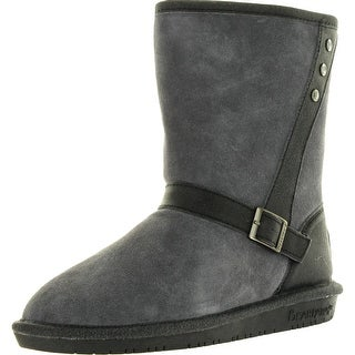 Bearpaw Womens Katniss Winter Fashion Boots - Charcoal - 6 b(m) us