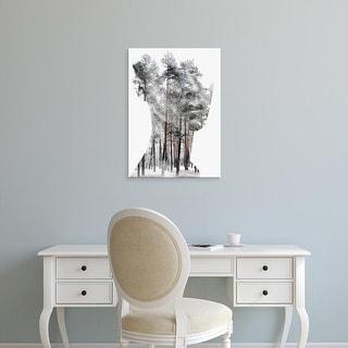 Easy Art Prints Andreas Lie's 'Insight' Premium Canvas Art