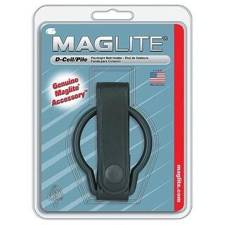 Maglite ASXD036 Leather Belt Flashlight Holder, Black, D-Cell