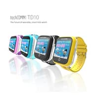 TechComm TD-10 Kids Smartwatch with Touch Screen, Fitness Tracker and GPS for T-Mobile ONLY