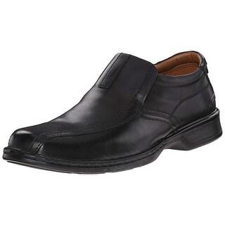 Clarks Men's Escalade Step Slip-On Loafer- Black 9 D(M) Us