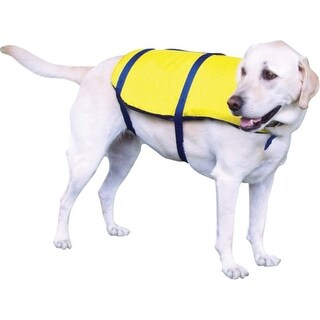 ONYX 7015YEL02M PET VEST SM NYLON YELLOW