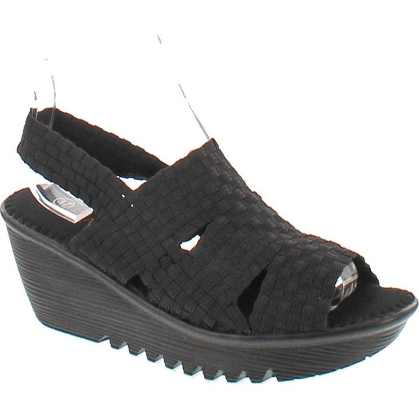 Bernie Mev Women's Level Sandals - Black