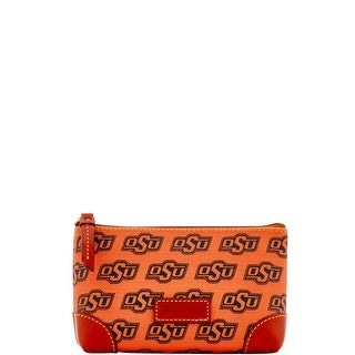 Dooney & Bourke NCAA Oklahoma State Cosmetic Case (Introduced by Dooney & Bourke at $48 in Dec 2015) - Orange