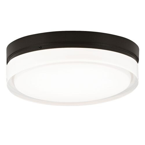 Tech lighting 700cql cf cirque fluorescent 2 light 11 flush mount ceiling fixture with
