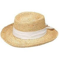 Peter Grimm's Gondola Ladies Resort Hat, White - One size
