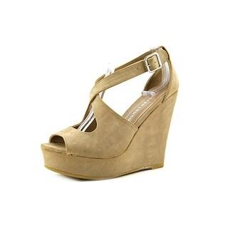 Chinese Laundry Dandy Women  Open Toe Synthetic  Wedge Heel