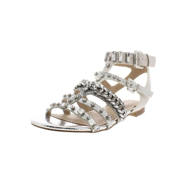 2646206a2c9 Shop Aldo Womens Brari Gladiator Sandals Faux Leather Iridescent ...