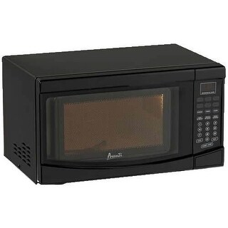Avanti MO719 0.7 Cubic Foot Black Electronic Control Microwave