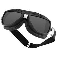 Bobster Pilot Aviator Goggles-Interchange Smoked/Clear Lens