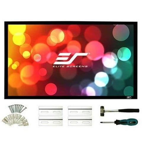 Elitescreens ER135WH2 Sableframe2 Series 135 in. 16-9