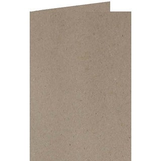 Kraft Grey - Papicolor A6 Folded Cards 6/Pkg