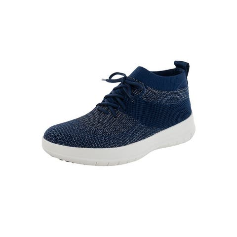 Fitflop Womens 'Uberknit Slip On High Top Sneakers'