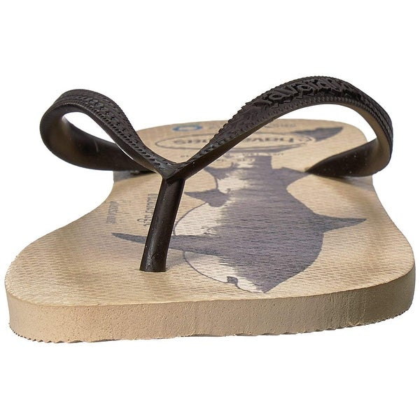 b7ec9a4ae0c1 Shop Havaianas Men s Conservation International Sandal Beige Black - Free  Shipping On Orders Over  45 - Overstock - 27100033