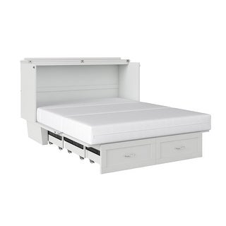 Link to Monroe Murphy Bed Chest Queen with Charging Station Similar Items in Bedroom Furniture