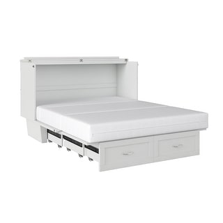 Monroe Murphy Bed Chest Queen with Charging Station