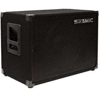 "Seismic Audio 15"" Bass Speaker Cabinet 300 Watt 115 Speakers 1x15"
