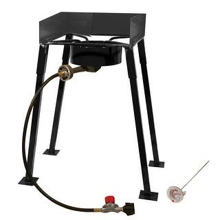 King Kooker #CS14-25 Portable Propane Outdoor Camp Stove - CS14|https://ak1.ostkcdn.com/images/products/is/images/direct/295194c6d7f7ebd67f4f351c5f26462b4cc10e96/King-Kooker-%23CS14-25-Portable-Propane-Outdoor-Camp-Stove---CS14.jpg?impolicy=medium