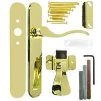 Hampton VBG115PB Serenade Storm Door Latch Lever, Polished Brass