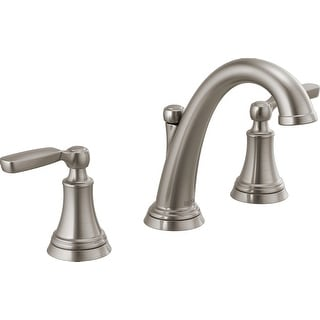 Delta 3532LF-MPU  Woodhurst 1.2 GPM Widespread Bathroom Faucet with Drain Assembly Included