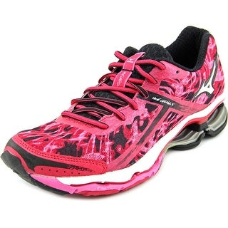 Mizuno Wave Creation 15 Women W Round Toe Synthetic Pink Running Shoe