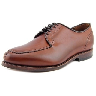 Allen Edmonds Lasalle Men 3E Apron Toe Leather Brown Oxford