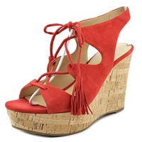 Ivanka Trump Zenia Women Medium Red Sandals