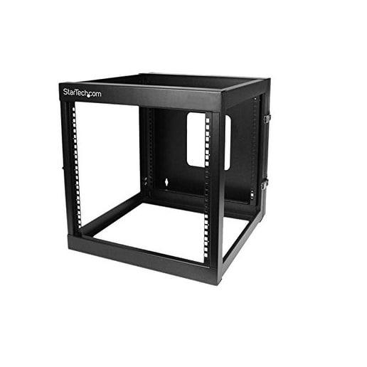 "Startech Rk1219wallohb 22"" 12U Hinged Open Frame Wall Mount Server Rack"