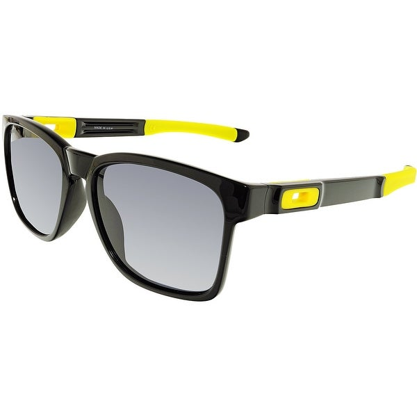 64167805bc Shop Oakley Men s Catalyst Prizm OO9272-17 Black Square Sunglasses - Free  Shipping Today - Overstock.com - 18900594