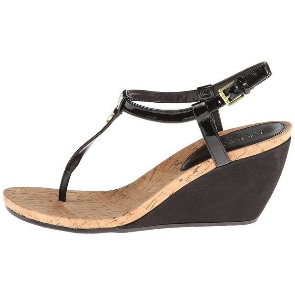 LAUREN by Ralph Lauren Womens Reeta Open Toe Casual Platform Sandals