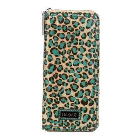 Hadaki by Kalencom Women's Money Pod Large Wallet Primavera Cheetah - US Women's One Size (Size None)